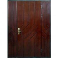 Железная тамбурная дверь с МДФ с 2-х сторон