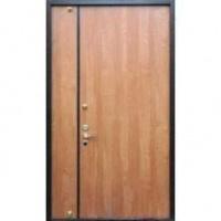 Металлическая тамбурная дверь с ламинатом с двух сторон