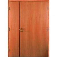 Стальная тамбурная дверь с ламинатом с 2-х сторон