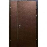 Железная тамбурная дверь с винилискожей с двух сторон