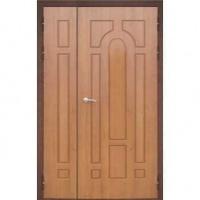 Стальная тамбурная дверь с МДФ с двух сторон