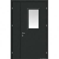 Железная тамбурная дверь с порошковым окрасом и порошковым окрасом