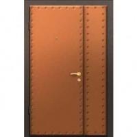 Входная тамбурная дверь с винилискожей с 2-х сторон