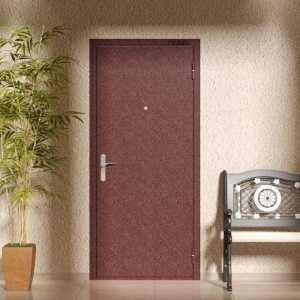 Двери с простым окрасом
