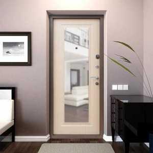 Входные двери с зеркалом 2