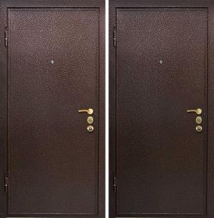 Двери с порошковым напылением 2